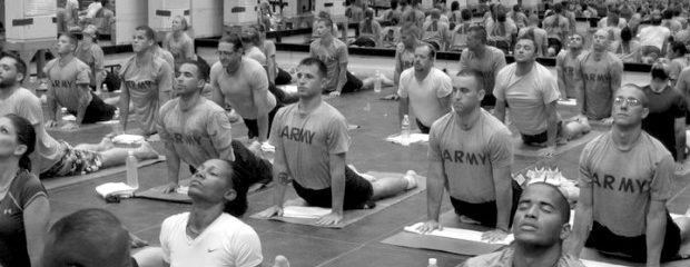 Yoga as Treatment for our Veterans Suffering from P.T.S.D.