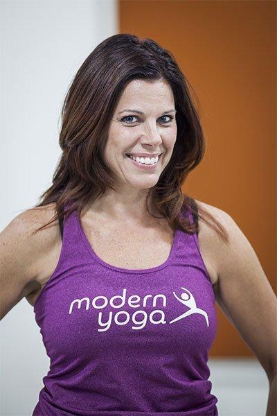 Modern Yoga Instructor