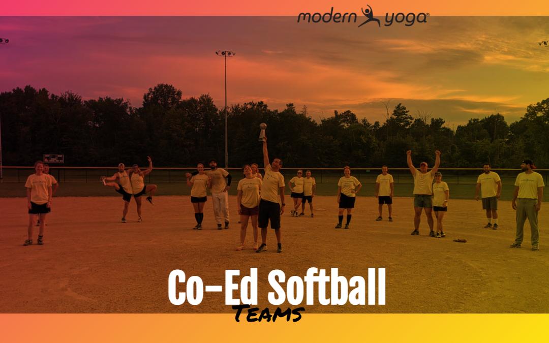 Modern Yoga Softball Teams