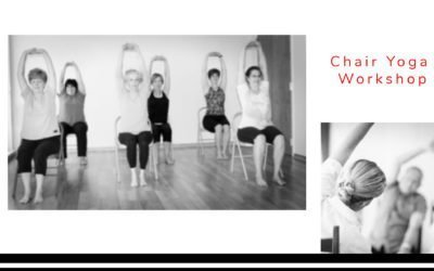Learn to Teach Chair Yoga Workshop with Dave Dickinson
