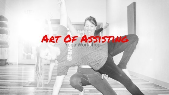 yoga assisting workshop