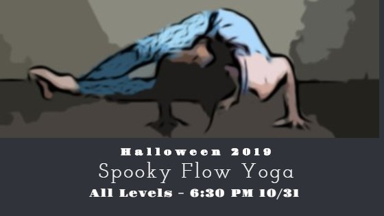 Spooky flow yoga