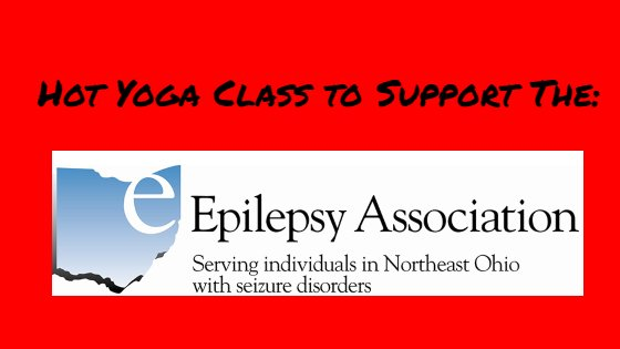 Free Hot Yoga! Donations to support the Epilepsy Association