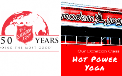 Free hot yoga class to support NEO Salvation Army