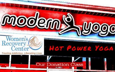 Free hot yoga class to support Women's Recovery Center