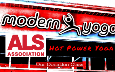 Free Hot Yoga! Donation Class to the ALS Association