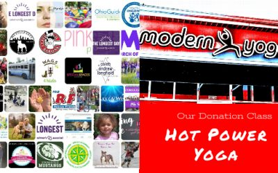 Free hot yoga class to support our community